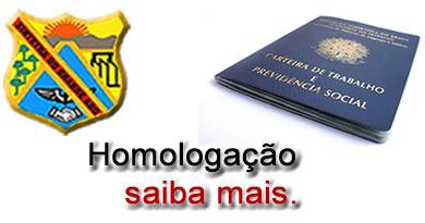 Documentação Necessária para Homologação