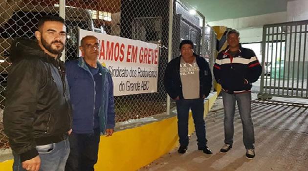 OS RODOVIÁRIOS DO GRANDE ABC FORAM À LUTA PARA GARANTIR OS DIREITOS DE TODOS!