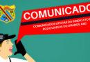COMUNICADOS OFICIAIS