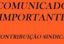 COMUNICADO MEDIDA PROVISÓRIA NÚMERO 873 DE 01 DE MARÇO DE 2019.